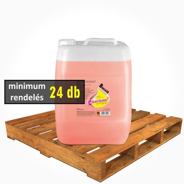 Clean Center - Bioccid fertőtlenítő felmosószer - 22l