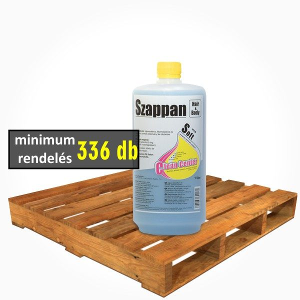 Clean Center - Soft hair&body sampon, tusfürdő szappan - 1l